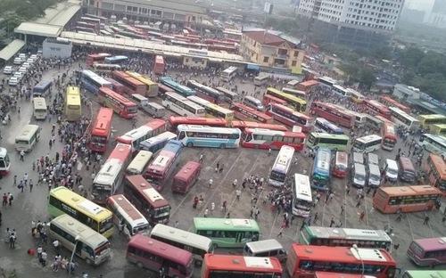 Sắp có bến xe mới tại Hà nội giảm ách tắc tại bến xe Mỹ Đình