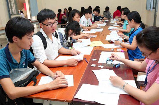 Nhiều thí sinh đã đăng ký thi môn Lịch sử cho kỳ thi THPT Quốc gia 2017