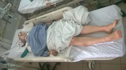 Chị Thu -nạn nhân của vụ dùng súng tự chế bị bắn vào đầu