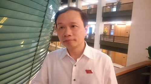 Ông Phạm Tất Thắng , một cử tri trong việc đổi mới giáo dục phổ thôn g cho hay