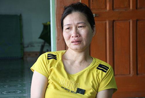 Bà Trâm nghẹn ngào chia sẻ khi mất đi người con trai yêu quý
