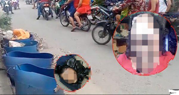 vụ đầu người trong thùng rác, phát hiện đầu người trong thùng rác, danh tính nạn nhân vụ đầu người trong thùng rác