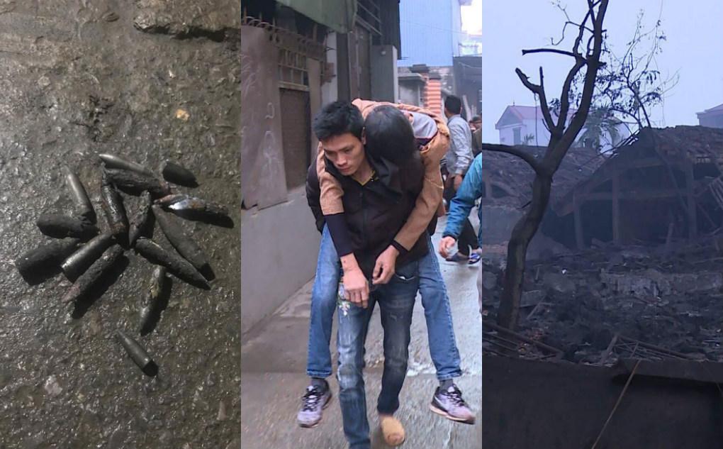 Nổ lớn kinh hoàng tại Bắc Ninh khiến 9 người thương vong trong đó có 2 cháu bé, nhiều ngôi nhà bị san phẳng
