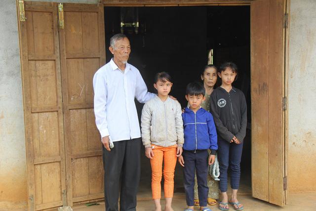trẻ mồ côi, 3 đứa trẻ mồ côi vì bố qua đời mẹ bỏ đi