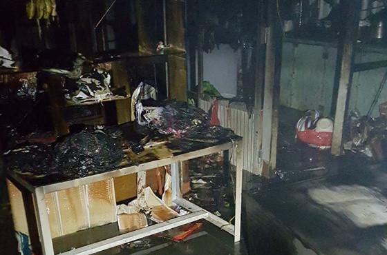 giải cứu 5 trẻ em trong vụ hỏa hoạn
