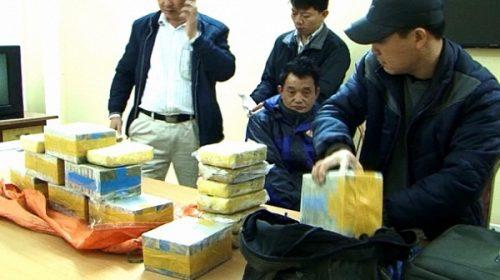 Bắt giữ đối tượng buôn lậu và tang vật ma túy ở Điện Biên.