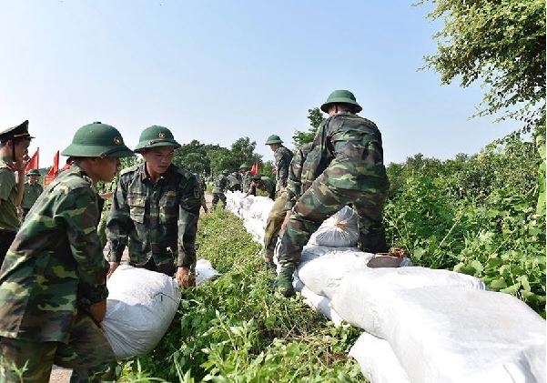 Theo dõi chặt chẽ các biện pháp ứng phó siêu bão mangkhut