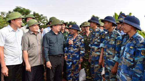 Chủ động ứng phó siêu bão mangkhut tại Quảng Ninh