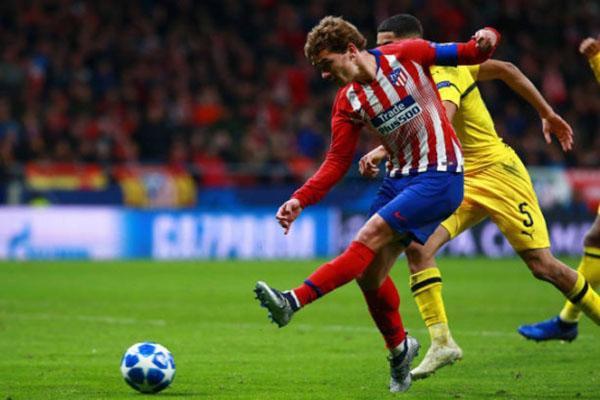 Atletico phục hận thành công