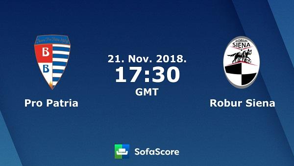 Nhận định Pro Patria vs Siena