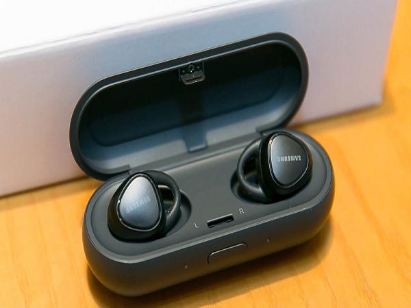 Tai nghe không dây samsung Gear IconX tạo điểm nhấn 2018