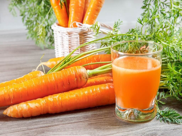 Mặt nạ trị nám tàn hiệu quả bằng cà rốt