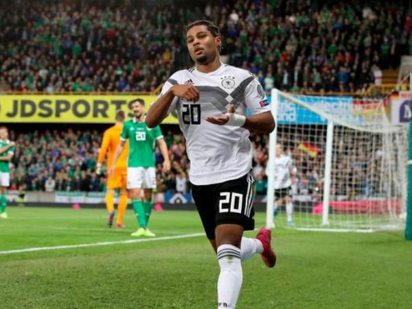 Serge Gnabry người lấy lại niềm tin với đội tuyển Đức
