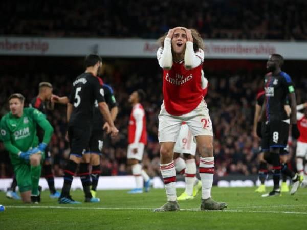 Những thống kê ấn tượng sau trận Arsenal 2-2 Crystal Palace