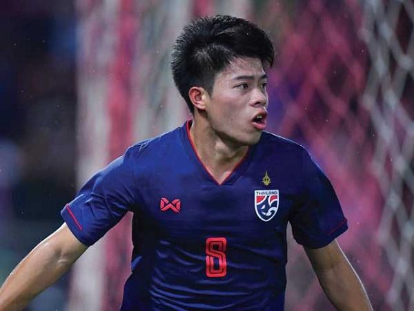 Tiền vệ Thái Lan gáy mạnh trước màn tái đấu tuyển Việt Nam