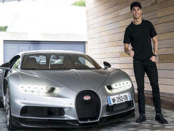 Ronaldo ăn mừng vô địch bằng siêu xe triệu USD