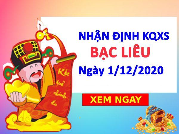 Nhận định KQXSBL ngày 01/12/2020