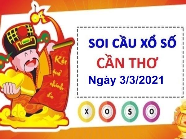 Soi cầu XSCT ngày 3/3/2021