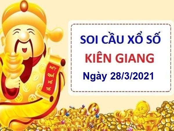 Soi cầu XSKG ngày 28/3/2021