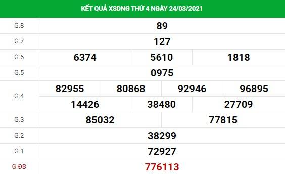 Phân tích kết quả XS Đà Nẵng ngày 27/03/2021