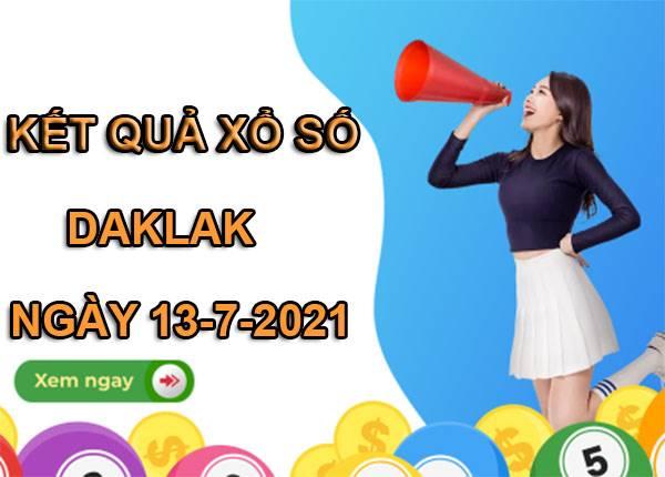 Phân tích sổ xố Daklak thứ 3 ngày 13/7/2021