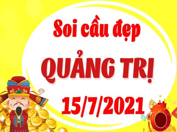 Soi cầu XSQT ngày 15/7/2021