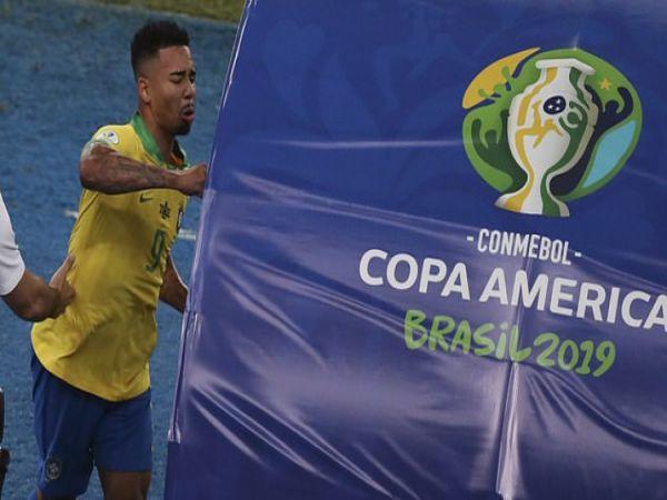 Tin thể thao chiều 7/7: Jesus bị treo giò ở chung kết Copa America