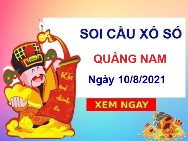 Soi cầu XSQNM ngày 10/8/2021