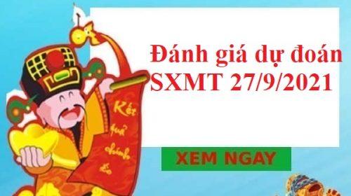 Đánh giá dự đoán SXMT 27/9/2021