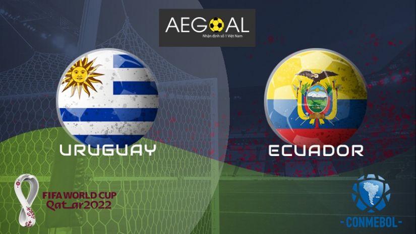 Nhận định Uruguay vs Ecuador, 5h30 ngày 10/9