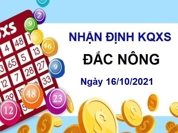 Nhận định KQXSDNO ngày 16/10/2021